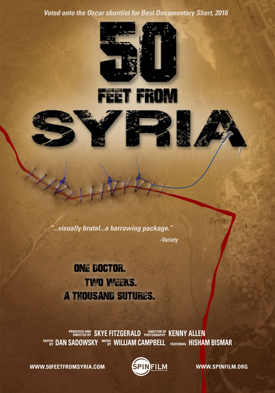 50 FEET FROM SYRIA